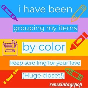 Other - POP OF COLOR! Pick your crayon!
